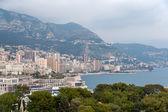 View of Ligurian Alps in Monaco — Stock Photo