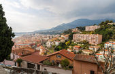 Menton city - Cote d'Azur, France — Stock Photo