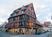 Alsatian style house in Molsheim, Alsace, France — Stock Photo