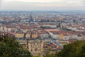 View of Lyon from Fourviere hill - France — Stock Photo