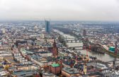 View of Frankfurt am Main - Hesse, Germany — Stock Photo