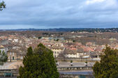 View of Avignon with Rhone river - France — Stock Photo
