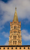 Basilica of St. Sernin in Toulouse, France — Stock Photo