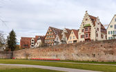 View of Ulm town - Germany, Baden-Wurttemberg — Stock Photo