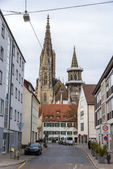 View of Ulm Minster - Germany, Baden-Wurttemberg — Stock Photo