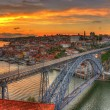 Porto with Dom Luis Bridge - Portugal — Stok fotoğraf #49170637
