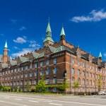 View of Copenhagen city hall, Denmark — Stock Photo #49179115
