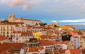 Evening view of Lisbon - Portugal — Stock Photo