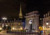 Porte de Bourgogne in Bordeaux, France — Stock Photo