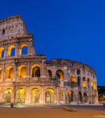 Evening view of Colosseo in Rome, Italy — Stock Photo