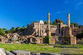Rome: Ruins of the Forum, Italy — Stock Photo