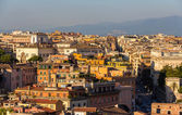 Evening panorama of Rome, Italy — Stock Photo