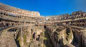 Arena of Flavian Amphitheatre (Colosseum) in Rome, Italy — Stock Photo