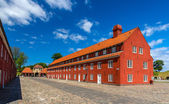 Barracks in Kastellet fortress, Copenhagen, Denmark — Stock Photo