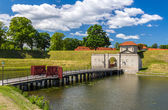 Entrance to Kastellet, a fortress in Copenhagen — Stock Photo