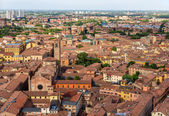 Aerial view of Bologna, Italy — Stock Photo