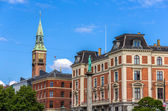 Buildings in Copenhagen city center - Denmark — Stock Photo
