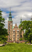 Rosenborg Castle in Copenhagen, Denmark — Stock Photo