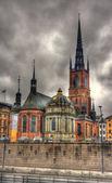 Riddarholm Church in Stockholm - Sweden — Stock Photo