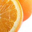 Stock Photo: Orange - closeup
