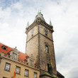 Prague - townhall in Old town — Stock Photo