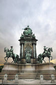 Statue of Empress Marie Theresa. Vienna — Stock Photo