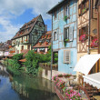 Petite Venice,Colmar,Alsace,France — Stock Photo