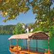 Autumn at Lake Bled,Slovenia — Stock Photo