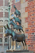 The Bremen Town Musicians — Stock Photo