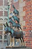 The Bremen Town Musicians — Stock Photo