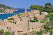 Tossa de Mar,Costa Brava — Stock Photo