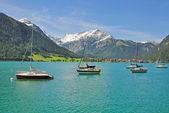 Pertisau,Lake Achensee,Tirol,Austria — Stock Photo
