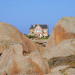 Coastal Landscape,Brittany,France — Stock Photo