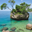 Rock of Brela,Makarska Riviera,Croatia — Stock Photo