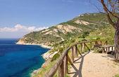 Chiessi, Elba Island,Tuscany,Italy — Stock Photo