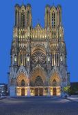 καθεδρικό ναό του reims, καμπανίας, γαλλία — Φωτογραφία Αρχείου