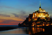 Mont St.Michel,Normandy,France — Stock Photo
