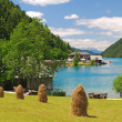 Lake Weissensee,Carinthia,Austria — Stock Photo