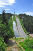 Ski Jump,Oberhof,Thuringia,Thuringian Forest — Stock Photo