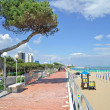 Lignano,venetian Riviera,Adriatic Sea,Italy - Stock Photo