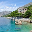 Brela,Makarska Riviera,Dalmatia,Croatia — Stock Photo
