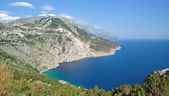 Coastal Landscape,Makarska Riviera,Dalmatia,Croatia — Stock Photo
