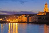 Krk town, isla de krk, croacia — Foto de Stock