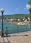 Promenade of Opatija,Istria,Croatia — Stock Photo