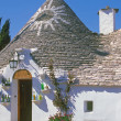 Trullo in Alberobello,Puglia,Italy - Stock Photo