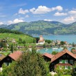 Stock Photo: Spiez,Lake Thun,Switzerland