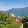 Stock Photo: Madonndel Sasso,Locarno,Ticino,Switzerland