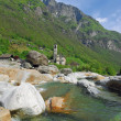 Lavertezzo,Verzasca Valley,Ticino Canton,Switzerland — Stock Photo