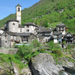 Lavertezzo,Ticino Canton,Switzerland — Stock Photo