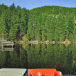 Lake Mummelsee,Black Forest,Germany — Stock Photo